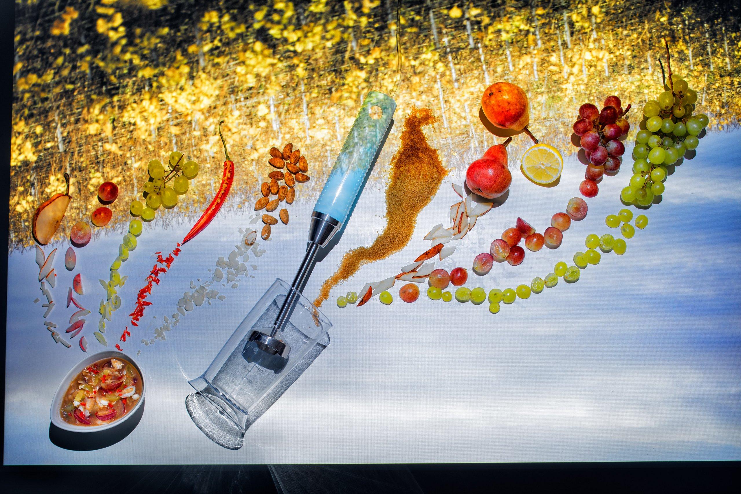Foodlydoodlydoo, grape chutney, food, recipe,vegan
