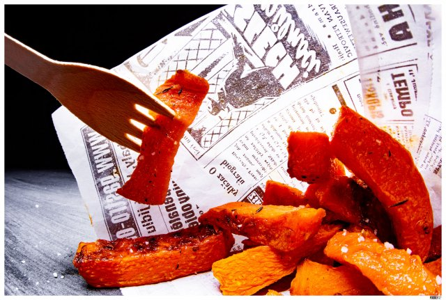 Pumpkin fries by foodlydoodlydoo